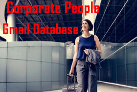 B2C Corporate People Gmail Database